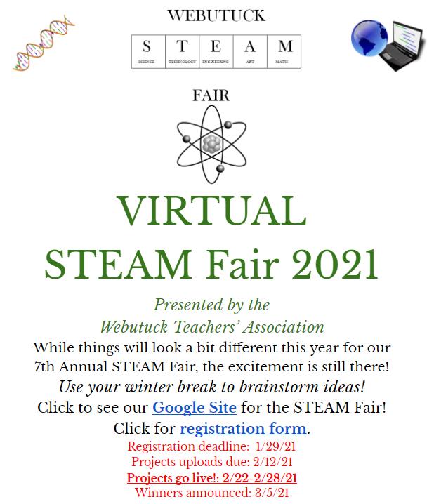 Webutuck STEAM Fair 2021