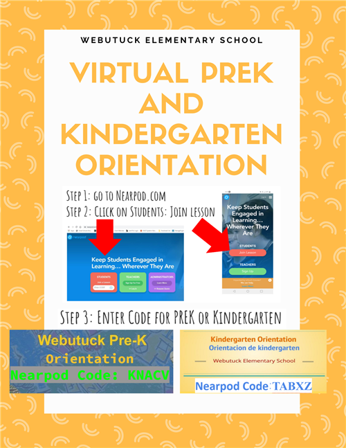 Virtual PreK and K Orientation 2020